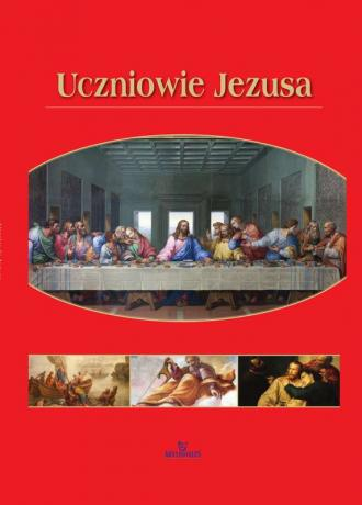 Uczniowie Jezusa - okładka książki