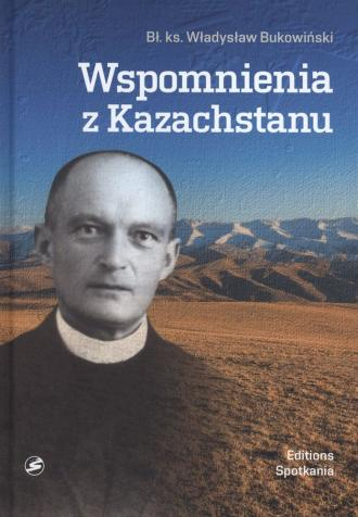 Wspomnienia z Kazachstanu - okładka książki