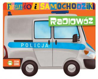 Franio i samochodziki. Radiowóz - okładka książki