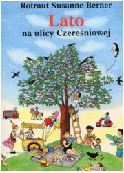 Lato na ulicy Czereśniowej - okładka książki