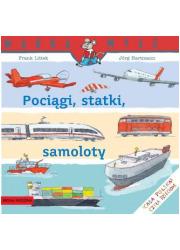 Pociągi, statki, samoloty - okładka książki