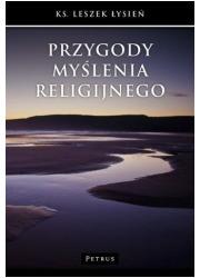 Przygody myślenia religijnego - okładka książki