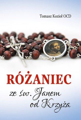 Różaniec ze św. Janem od Krzyża - okładka książki