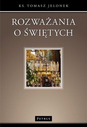 Rozważania o świętych - okładka książki