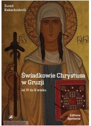 Świadkowie Chrystusa w Gruzji od - okładka książki
