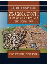 Synagoga w Ostii. Niemy świadek - okładka książki