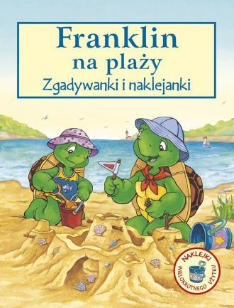 Franklin na plaży. Zgadywanki i - okładka książki