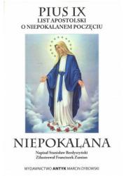 Niepokalana - Encyklika dogmatyczna - okładka książki