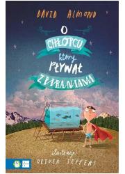 O chłopcu, który pływał z piraniami - okładka książki