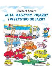 Auta, maszyny, pojazdy i wszystko - okładka książki