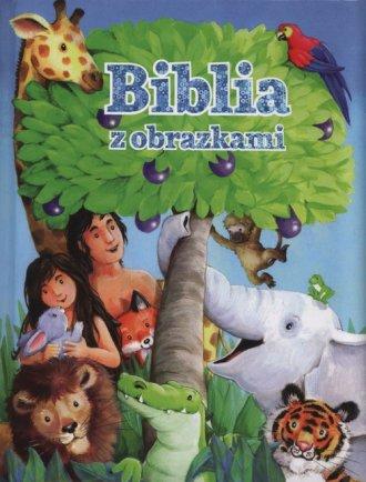Biblia z obrazkami (niebieska) - okładka książki