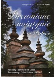 Drewniane świątynie w Polsce - okładka książki