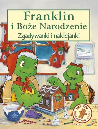 Franklin i Boże Narodzenie - okładka książki