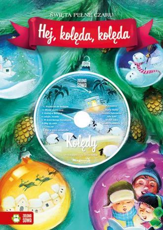 Hej kolęda kolęda (+ CD) - okładka książki