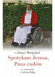 Spotykam Jezusa, Pana cudów - okładka książki