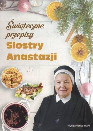 Świąteczne przepisy Siostry Anastazji - okładka książki