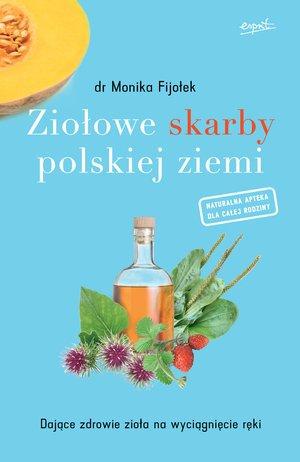 Ziołowe skarby polskiej ziemi. - okładka książki