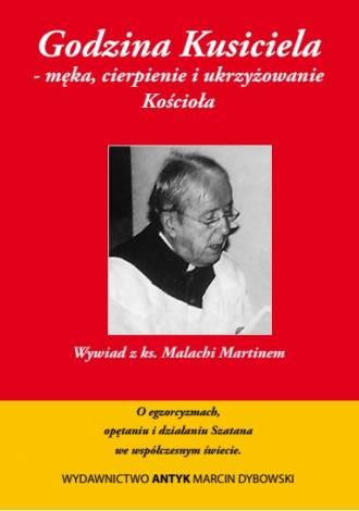 Godzina Kusiciela - męka, cierpienie - okładka książki
