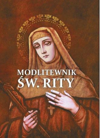 Modlitewnik Św. Rity - okładka książki