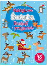 Naklejkowe Święta. Rudolf i przyjaciele - okładka książki