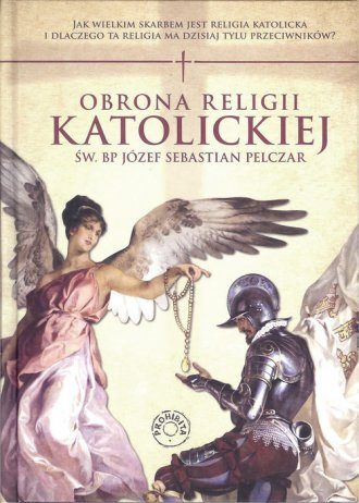 Obrona religii katolickiej - okładka książki