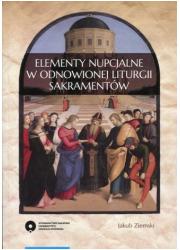 Elementy nupcjalne w odnowionej - okładka książki