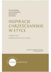 Inspiracje chrześcijańskie w etyce - okładka książki