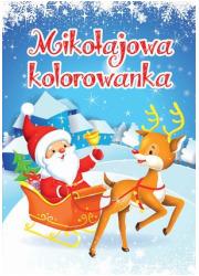 Mikołajowa kolorowanka - okładka książki