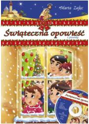 Świąteczna opowieść z piosenką - okładka książki
