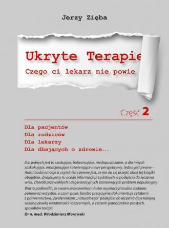 Ukryte terapie cz. 2 - okładka książki