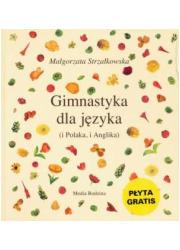 Gimnastyka dla języka - okładka książki