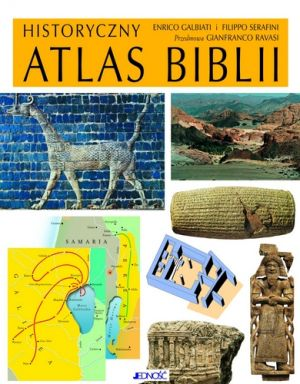 Historyczny atlas Biblii - okładka książki