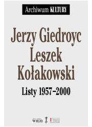 Listy 1957-2000 - okładka książki