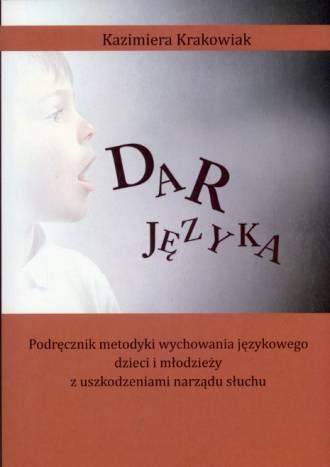 Dar języka. Podręcznik metodyki - okładka książki