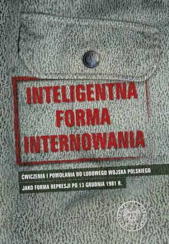 Inteligentna forma internowania. - okładka książki