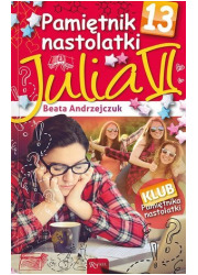 Pamiętnik nastolatki 13. Julia - okładka książki