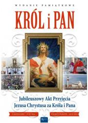 Król i Pan. Jubileuszowy Akt Przyjęcia - okładka książki