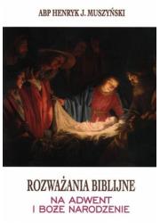 Rozważania biblijne na Adwent i - okładka książki