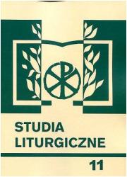 Studia liturgiczne 11: Badania - okładka książki