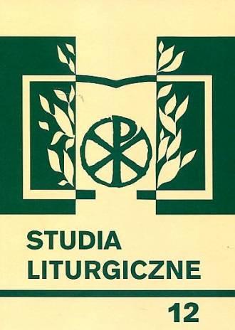 Studia liturgiczne 12. Święty Józef - okładka książki