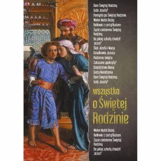 Wszystko o Świętej Rodzinie - okładka książki