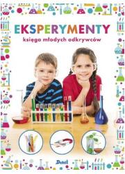 Eksperymenty. Księga młodych odkrywców - okładka książki