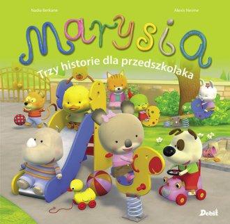 Marysia. Trzy historie dla przedszkolaka - okładka książki