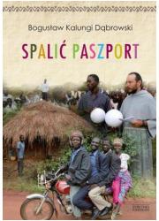 Spalić paszport - okładka książki