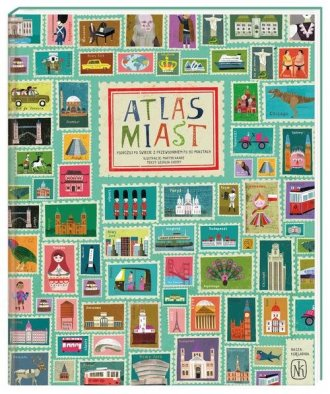 Atlas miast - okładka książki