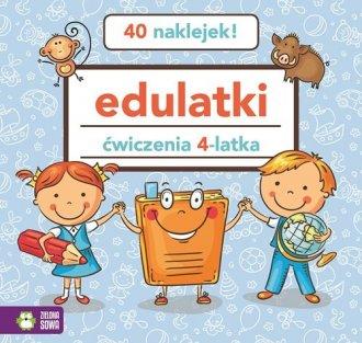 Edulatki. Ćwiczenia 4-latka - okładka podręcznika
