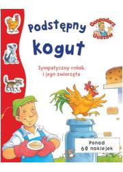 Gospodarz Gustaw. Podstępny kogut - okładka książki