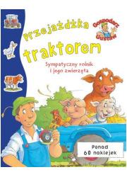 Gospodarz Gustaw Przejażdżka traktorem - okładka książki