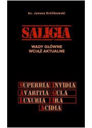 Saligia wady główne wciąż aktualne - okładka książki
