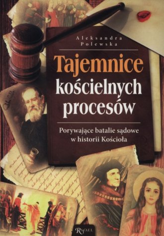 Tajemnice kościelnych procesów. - okładka książki